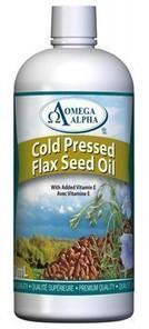 Omega Alpha Flax Seed Oil | 826913121959