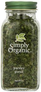 Simply Organic Parsley Flakes | 089836192301