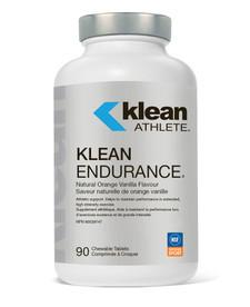 Klean Athlete Klean Endurance Natural Orange Vanilla Flavour 90 Chewable Tablets   310539979198