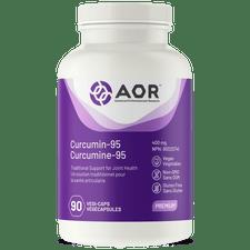 AOR Curcumin 95 - 90 veg capsules   624917040043