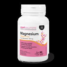 Smart Solutions Lorna Vanderhaeghe  Magnesium Bisglycinate Pure Elemental 130mg - 90 Veg Capsules | 871776001108