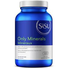 Sisu Only Minerals 120 veg caps   777672010087
