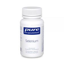 Pure Encapsulations Selenium 60 veg capsules | 766298012032