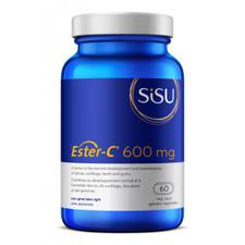 Sisu Ester-C 600mg 60 Veg Caps | 777672011206