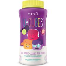 Sisu U-cubes Children's Multi-vitamin and Mineral Gummies 120 Gummies Assorted (Grape, Cherry & Orange) | 777672012418