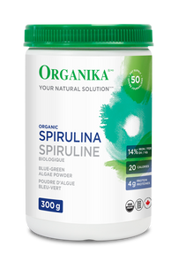 Organika Organic Spirulina Blue-Green Algae Powder 300g | 620365018177