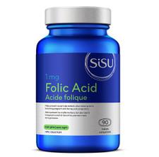 Sisu Folic Acid 1mg 90 Tablets   777672010247