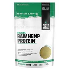 North Coast Naturals Organic Raw Hemp Protein  340 grams   627933100012