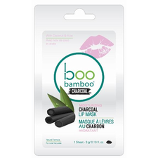Boo Bamboo Charcoal Lip Mask | Single 776629102462 | 12 Pack 776629102469