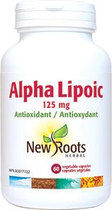 New Roots Herbal Alpha Lipoic 125mg | 628747102896