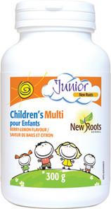 New Roots Herbal Children's Multi Powder Berry-Lemond Flavour 300g | 628747017947
