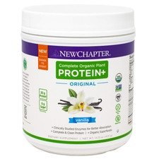 New Chapter Complete Organic  Plant Protein+ Original Vanilla | 727783101907
