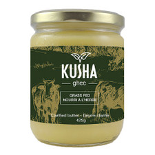 Kusha Ghee Grass Fed Ghee Clarified Butter 425g | 627843381853