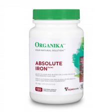 Organika Absolute Iron 120 Veg Capsules | 620365029777
