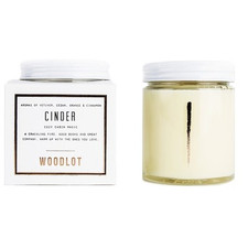 Woodlot Candle Cinder 8oz | 628250757149