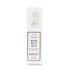 Woodlot Mayan White Copal Incense 10 Sticks | 628250757811
