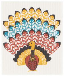 Now Designs Tommy Turkey Swedish Dishcloth | 064180275757