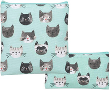 Now Designs Cats Meow Snack Bags   064180240946