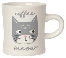 Now Designs Cats Meow Diner Mug 12 oz | 064180267554