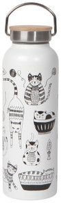 Now Designs Purr Party Roam Water Bottles 530ml | 064180269039