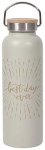 Now Designs Best Day Ever Roam Water Bottle 530ml   064180275306