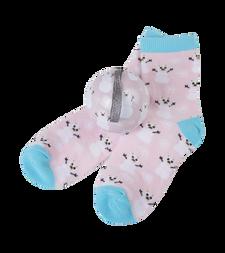 Little Blue House by Hatley Kids Socks in Ball Pink Snow Bears | 671374156916