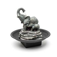 Relaxus Elephant Indoor Water Fountain   628949003564