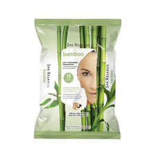 Relaxus Spa Relaxus %100 Bamboo with Aloe Cleansing Wipes - 15 Wipes | REL-505263