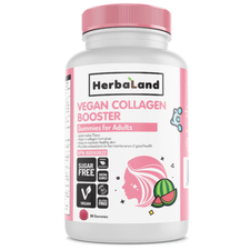 Herbaland Vegan Collagen Booster for Adults 90 Gummies | UPC: 813523001016