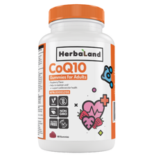 Herbaland Gummy for Adults CoQ10 60 Gummies | 813523000200