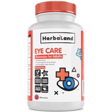 Herbaland Gummy for Adults Eye Care 90 Gummies | 813523000385