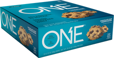 One Bars Chocolate Chip Cookie Dough 60g x 12 Bars | 788434108829