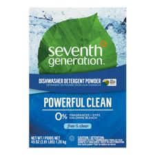 Seventh Generation Dishwasher Detergent Powder - Free & Clear 1.28 kg   7329132215709