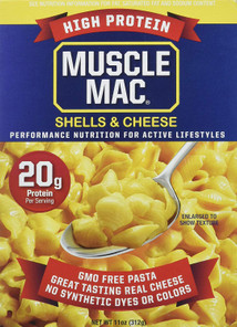 Muscle Mac High Protein Shell & Cheese 312g | 856587004241