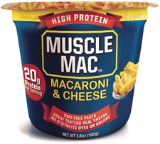 Muscle Mac High Protein Macaroni & Cheese Microwave Cup 102g   856587004255