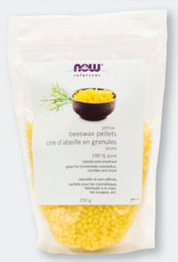 Now Solutions 100% Pure Natural Yellow Beeswax Pellets 250g   733739920010