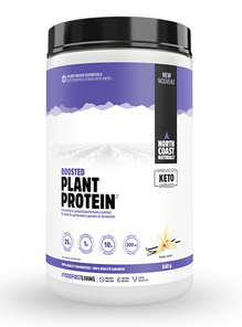 North Coast Naturals Boosted Plant Protein 840 g Vanilla | 627933101415 | 627933101453 | 627933101460