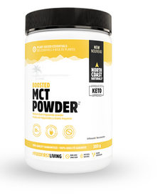 North Coast Naturals Boosted MCT Powder 300g Unflavoured   627933100302