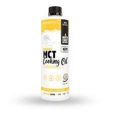 North Coast Naturals Boosted MCT Cooking Oil Unflavoured 473ml | 627933100401