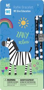 Me to We Safari Cute Critter Rafiki Bracelet- Zeny Zebra | 628499071433