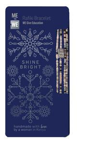Me to We Holiday Rafiki Bracelet Collection Pre-Pack- Shine Bright | 628499087069