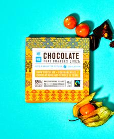 Me to We 65% Dark Chocolate with Golden Berries 40 g | 628499080336