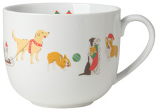 Now Designs Holiday Pups Latte Mug 16 oz | 064180234853