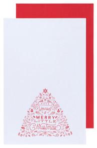 Now Designs Merry Little Christmas Dishtowels Set of 2 | 064180275894