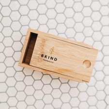 Bkind Bamboo case for shampoo and conditioner bar   628110689559