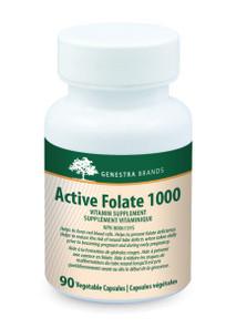 Genestra Active Folate 1000 90 Veg Capsules   883196146307