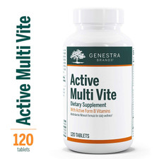 Genestra Active Multi Vite 120 Tabs | 883196140602