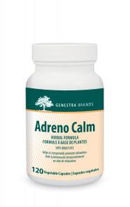Genestra Adreno Calm 120 Veg Caps  | 883196143603