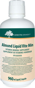 Genestra Almond Liquid Vite Min 960 ml | 883196101214