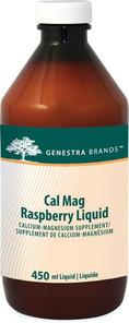 Genestra Cal Mag Raspberry Liquid 450 ml | 883196126514